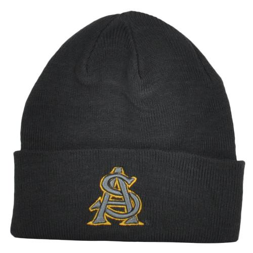 NCAA Zephyr Arizona State Sun Devils Cuffed Knit Beanie Hat Winter Toque Skully