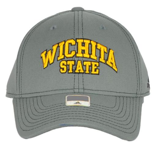 NCAA Adidas Wichita State Shockers MZ015 Curved Flex Fit Small Medium Hat Cap