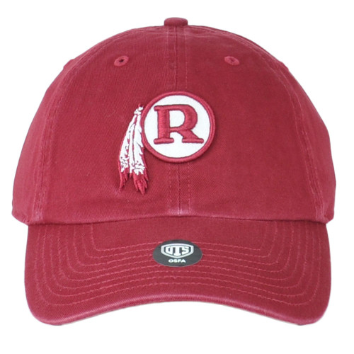 NFL OTS Challenger Washington Redskins Legacy Relaxed Adjustable Hat Cap Unisex