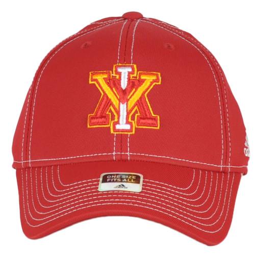 NCAA Adidas Virginia Military Institute VMI TK22Z Structured Flex Fit Hat Cap