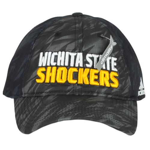 NCAA Adidas Wichita State Shockers EW37Z Snapback Curved Unisex Adult Hat Cap