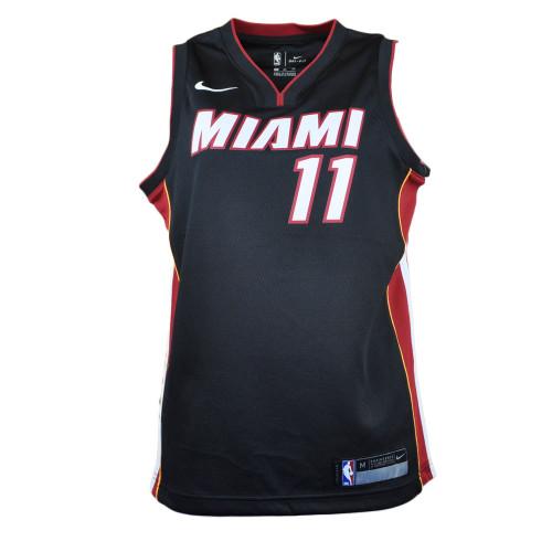 NBA Nike Miami Heat Dion Waiters #11 Swingman Jersey Icon Black Youth Dri Fit