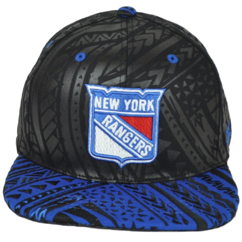 NHL Zephyr New York Rangers Adjustable Snapback Flat Bill TOA Collect Hat Cap