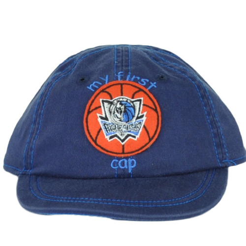 NBA Dallas Mavericks My First Cap Hat Infant Boy Baby Navy Blue One Size Fan