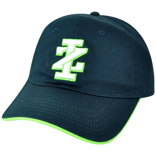 130e661491493 IZOD Classic Clothes Brand Navy Sun Buckle Slouch Relaxed Hat Cap Curved  Bill