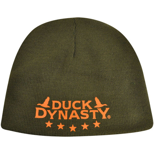 Duck Dynasty Reversible Cuffless A&E TV Series Knit Beanie Toque Camouflage Hat