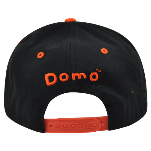 e83a163ca Domo Face Drink Hat Animation Snapback Japanese Flat Bill Character Hat Cap