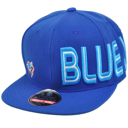 MLB Toronto Blue Jays Original Snapback Flat American Needle Blindside Hat Cap