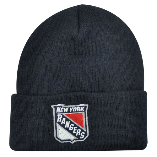 BEANIE KNIT HAT CAP NEW YORK RANGERS YOUTH KIDS BLUE