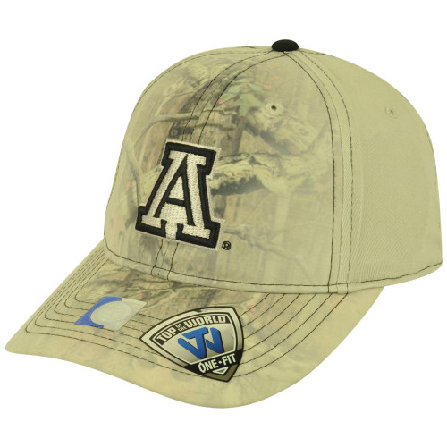 finest selection 21149 82890 NCAA Top of the World Arizona Wildcats Fade Camo Flex One Fit Mossy Oak Hat  Cap ...