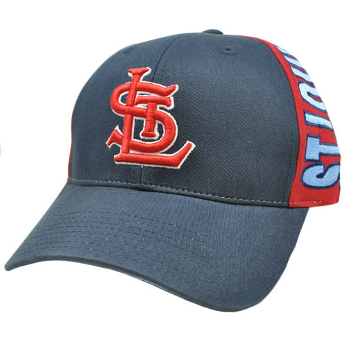MLB St Saint Louis Navy Dark Light Blue Red Snapback American Needle Hat Cap