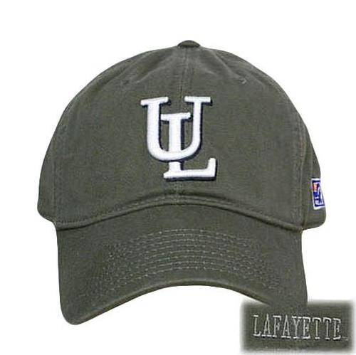 NCAA FITTED WASH CAP HAT LAFAYATTE LEOPARDS OLIVE LARGE