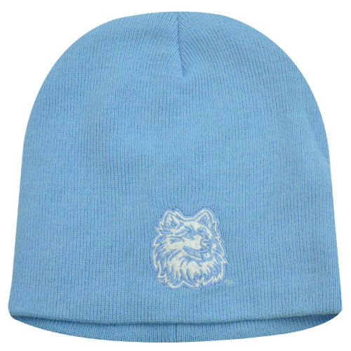 NCAA BEANIE KNIT YOUTH HAT CONNECTICUT HUSKIES BLUE