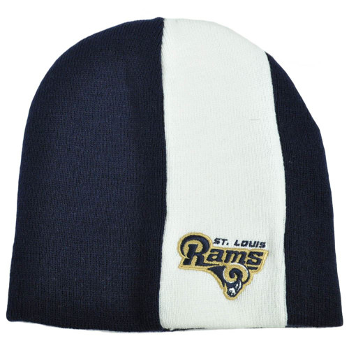 NFL Reebok Licensed Cuffless Skully St Louis Rams Acrylic Knit Winter Hat Toque