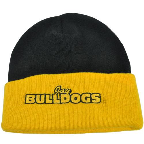 separation shoes 999d8 b6733 NCAA Jay Bulldogs Oklahoma High School Knit Cuffed Beanie Winter Snow Hat  Cap