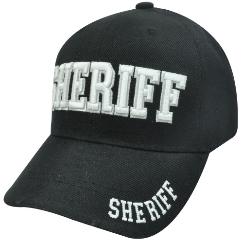 aabe24aa62c1fb Sheriff County Deputy Police Law Enforcement Constructed Velcro Baseball  Hat Cap