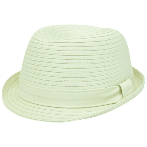 3f0beec9 Concept One Neutral Band Gangster Stetson Trilby S/M Trilby Cotton Relaxed  Hat