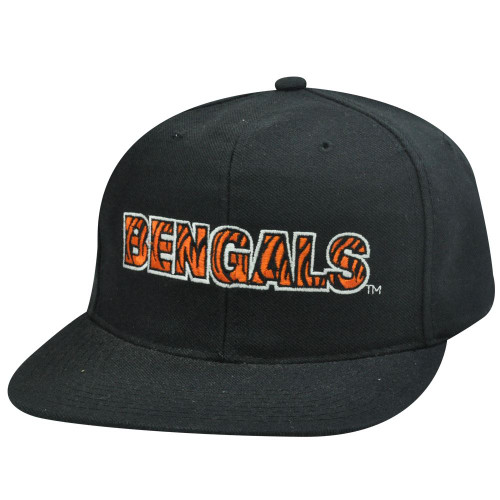 HAT CAP SNAPBACK VINTAGE CINCINNATI BENGALS NEW ERA FLAT BILL DEADSTOCK OLD NFL