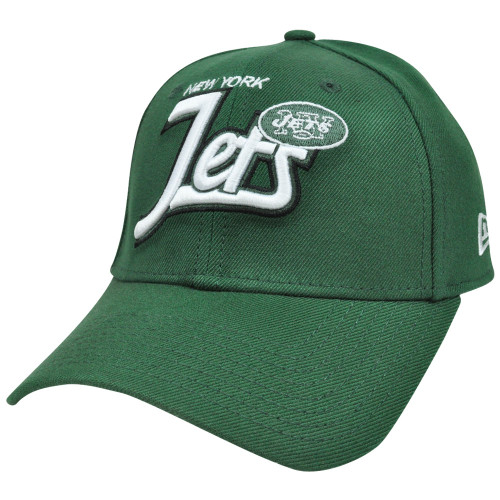 NFL New Era 39Thirty 3930 Tail Swoop Classic Flex Fit Hat New York Jets SM
