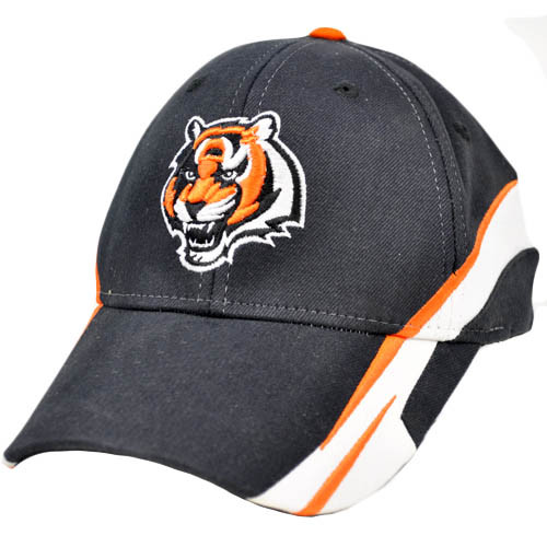 NFL Cincinnati Bengals Black Orange Team Apparel Small Medium Hat  hot sale