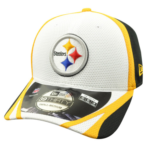 finest selection 8be53 73787 NFL New Era 39Thirty Pittsburgh Steelers 2014 Official Training Flex Fit M L