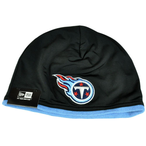 NFL New Era Tennessee Titans Tech Knit Game Cuffless Beanie Hat Skully Toque