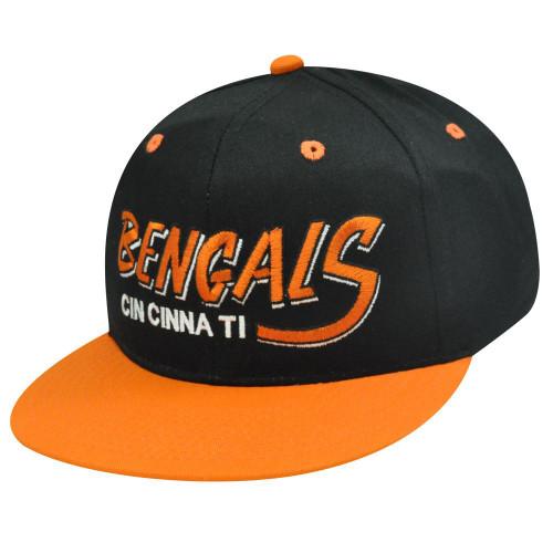 NFL CINCINNATI BENGALS VINTAGE HAT CAP SNAPBACK FLAT