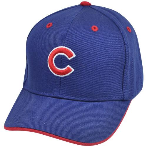 MLB Fan Favorite Chicago Cubs Baldschun Youth Kids Adjustable Baseball Hat Cap