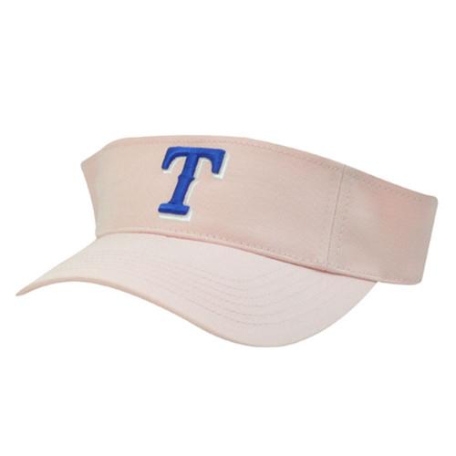 MLB Texas Rangers Baseball Cotton Velcro Womens Ladies Girls Visor Twins Hat Cap