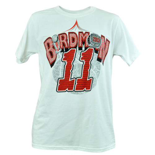 Miami Heat NBA Chris Birdman Anderson 11 2013 Champion Finals Tshirt Shirt Tee