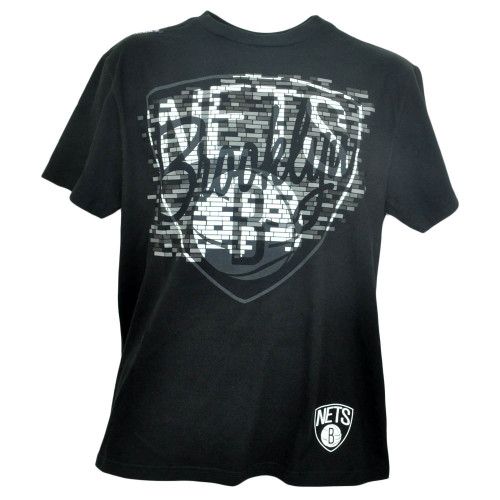 NBA Unk Brooklyn Nets NY Brick Breaker Basketball Tshirt Tee Black Shirt