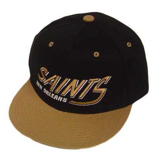 7da6b8c9 NFL NEW ORLEANS SAINTS FLAT OLD SCHOOL SNAPBACK CAP HAT - Cap Store ...