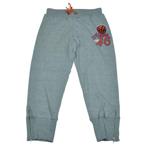 NBA Unk New York Knicks Women Ladies Rhinestone Capri Sweat Pants Zipper