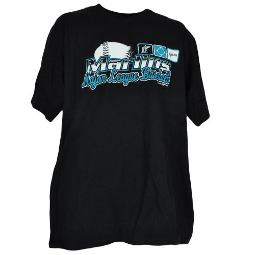 MLB Miami Florida Marlins Major League Baseball Mens Junior Teen Shirt Tshirt