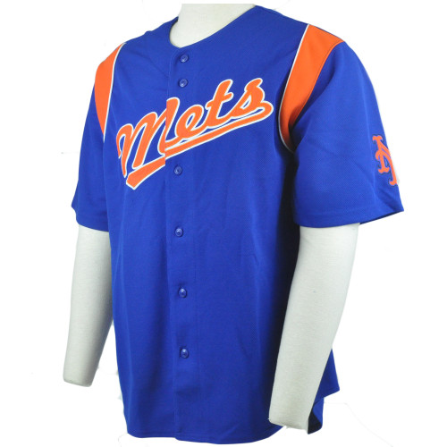 MLB Stitches New York Mets Baseball Authentic Licensed Jersey Shirt
