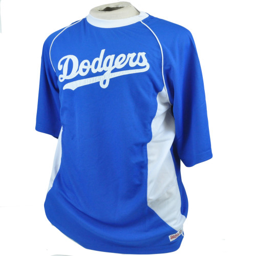 MLB Stitches Los Angeles Dodgers Lightweight Authentic Jersey Shirt