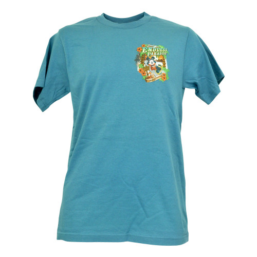 Official Disney Mens Mickey Mouse Vacation Patrol Magical Hammock Tshirt