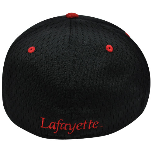 a2d75bd101fa2 ... NCAA Lafayette Leopards Mesh Curved Bill Constructed Black Hat Cap  Fitted