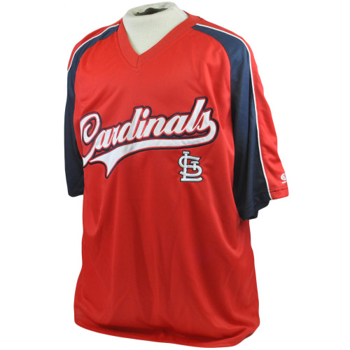 MLB St Louis Cardinals True Fan Licensed Authentic Lightweight Jersey XLarge XL