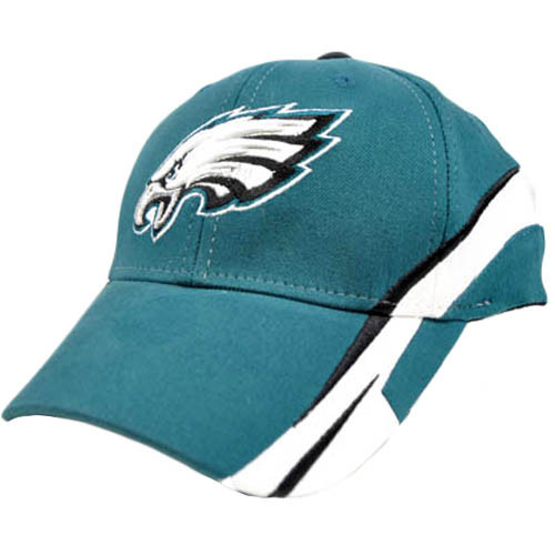 NFL Philadelphia Eagles Turquoise White Team Flex Fit Large XLarge XL Hat Cap