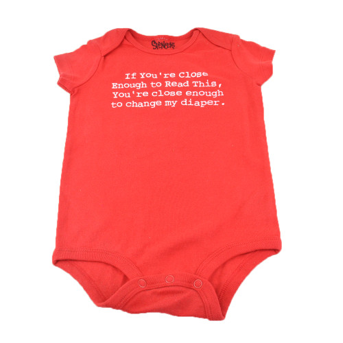 If Youre Close Enough To Read This Spencers Funny Body Suit Infant 18 Months