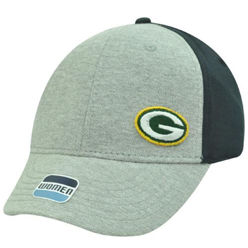 NFL Green Bay Packers Gray Black Yellow Green Jersey Cotton Cap Hat Ladies Women