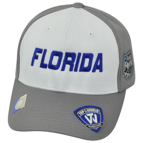 NCAA Florida Gators UF 2014 Men's Basketball Final Four Velcro Two Tone Hat Cap
