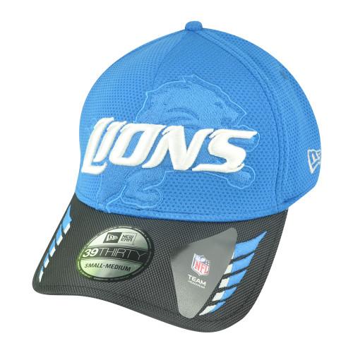 NFL New Era 39Thirty 3930 Detroit Lions Ballizzle Flex Fit S/M Stretch Hat Cap