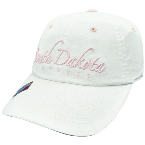 NCAA South Dakota Coyotes Ladies Cut Garment Wash Sun Buckle Slouch Relax Hat
