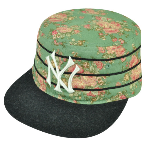 MLB American Needle New York Yankees Off The Vine Cadet Strapback Hat Cap Floral
