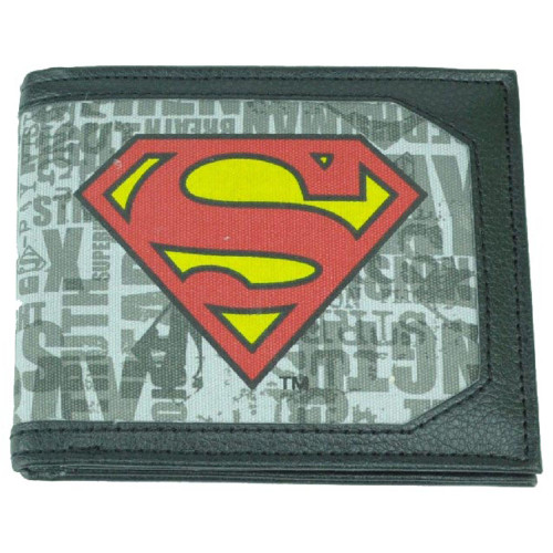 Superman Wordmark Logo Bifold Wallet