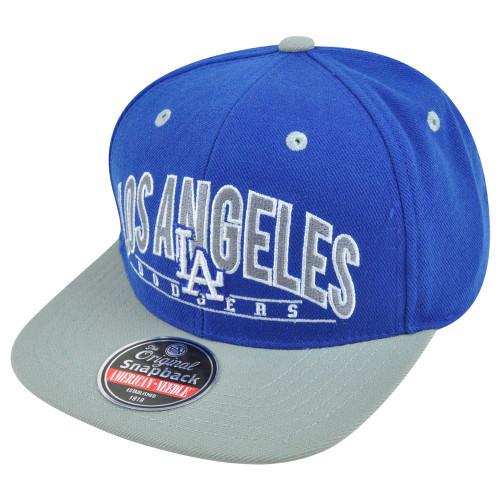 MLB American Needle LA Los Angeles Dodgers Archer Snapback Baseball Hat Cap