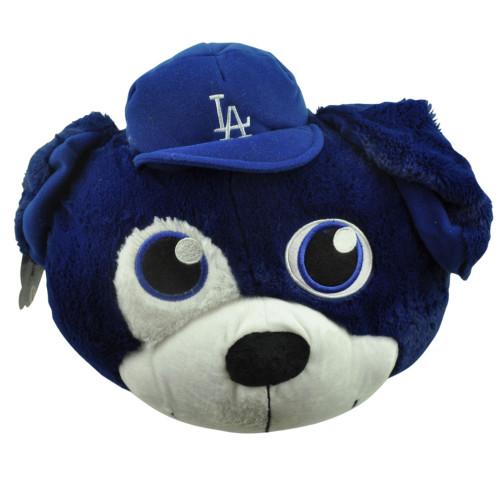 MLB Los Angeles Dodgers Nogginz Plush Toy Big Huge Head Blue Novelty LA Mascot