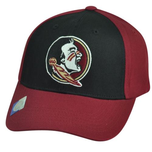 NCAA Florida State Seminoles Two Tone Velcro Captivating Headgear Hat Cap Sport